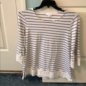 3/4 sleeve length cotton top!